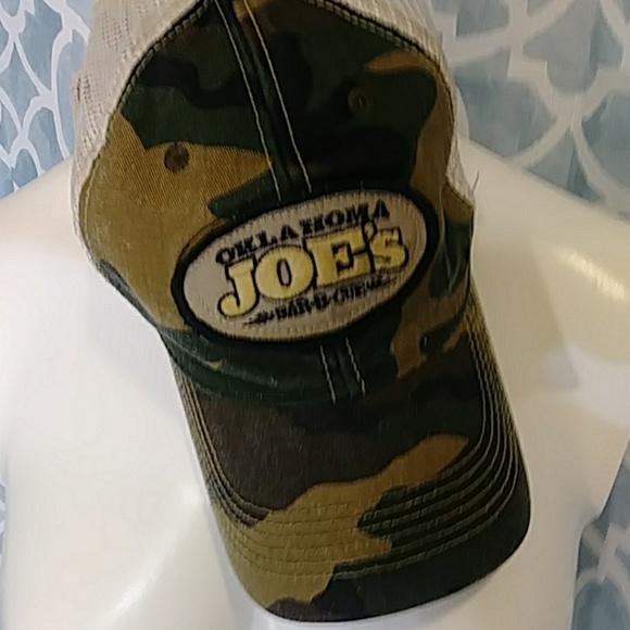 OKLAHOMA JOES CAMO BALL CAP BY LEGACY